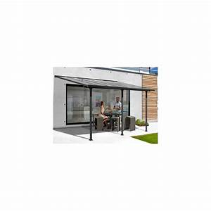 Toit Terrasse Aluminium : abri en aluminium toit terrasse adosser contre un mur ~ Edinachiropracticcenter.com Idées de Décoration