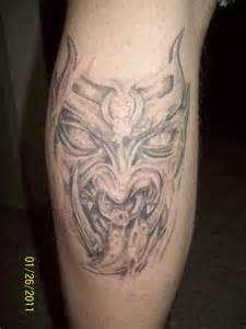 Evil Faces Tattoos
