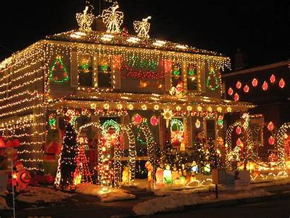 Christmas Lights Welcome Decorating Outdoor Decorations Outside