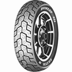 dunlop 491 elite ii raised white letter rear tire With dunlop white letter tires