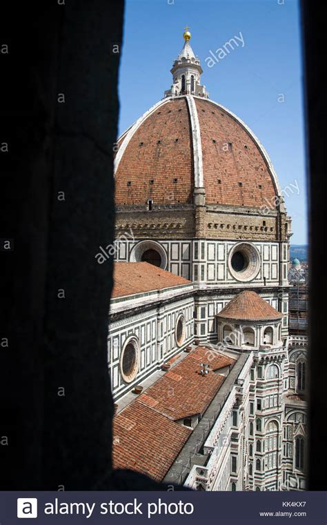 cupola dome florence duomo brunelleschis dome cathedral stock photos