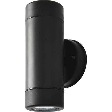 neso up wall light ip44 led gu10 2 x 7w toolstation