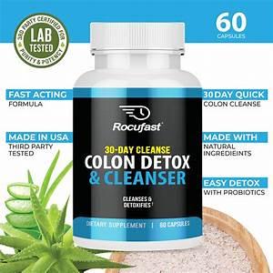 Advanced Colon Cleanse Health Supplement  U2013 Rocufast