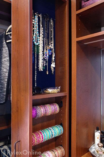 Bangle Bracelet Cabinet   Slim Profile   Blooming Grove