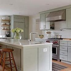 Sage Green Kitchen Cabinets Design Ideas