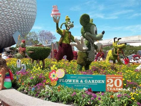 epcot international flower garden festival 2016 orlando