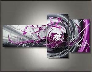 Tableau Triptyque Moderne : tableau triptyque design tableau deco ejrac ~ Teatrodelosmanantiales.com Idées de Décoration