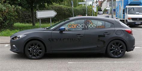 2019 Mazda 3 Turbo by 2019 Mazda 3 Spied With Skyactiv X Engine Photos Caradvice