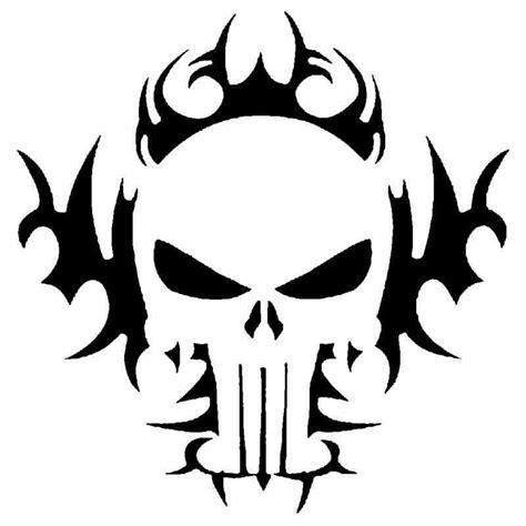 tribal skull stencil  airbrush tattoo craft art ebay