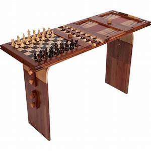 Wood Game and Coffee Table Ode to Wood