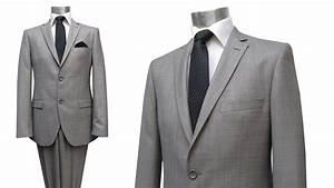 Herren Anzug Modern : moderne herren anzug grau meliert muga herrenausstatter ~ Frokenaadalensverden.com Haus und Dekorationen