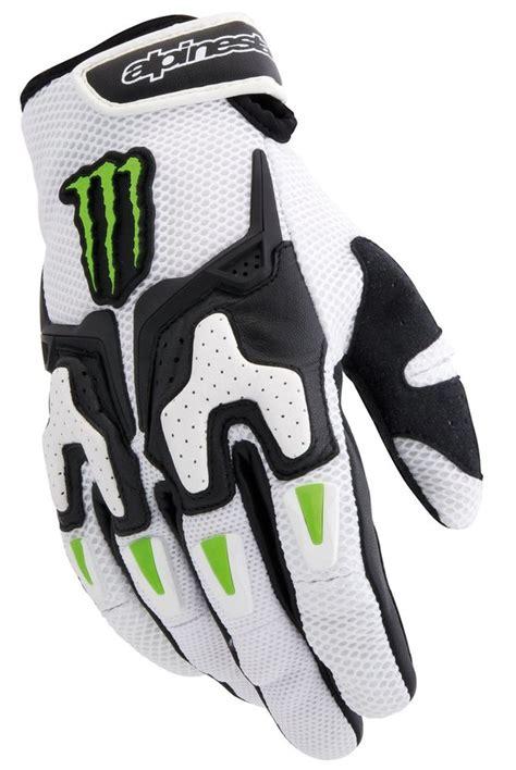 monster energy motocross gloves 59 95 alpinestars m20 air monster energy mesh leather 139691