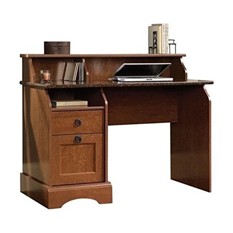sauder graham hill desk autum maple finish home and office furniture