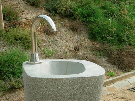water fountain sink combo outdoor drinking fountain sink combination the homy design