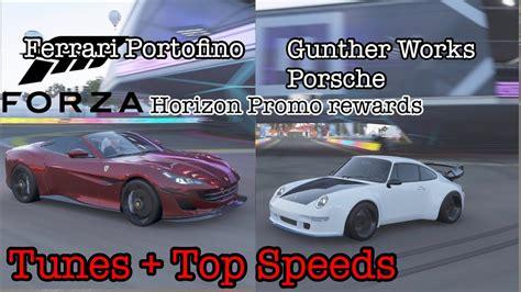 Forza horizon 4's series 30 update added a new mode: Forza Horizon 4 | Ferrari Portofino & Gunther Works Porsche | Horizon Promo Rewards | tunes ...