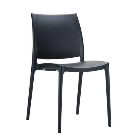 chaise en plastique chaise en plastique polypropylène 4 pieds