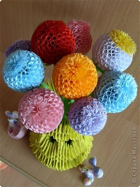 diy quilling beautiful ball flowers