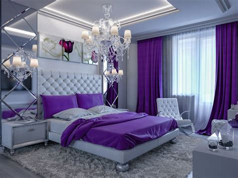 25 Purple Bedroom Designs And Decor  Bedroom Decorating