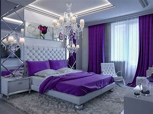 25, Purple, Bedroom, Designs, And, Decor, With, Images