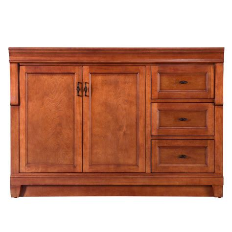 48 inch bathroom vanity right side sink foremost naples 48 in w bath vanity cabinet only in warm