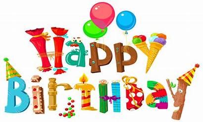 Birthday Happy Clipart Coloring Printable Printables Clip