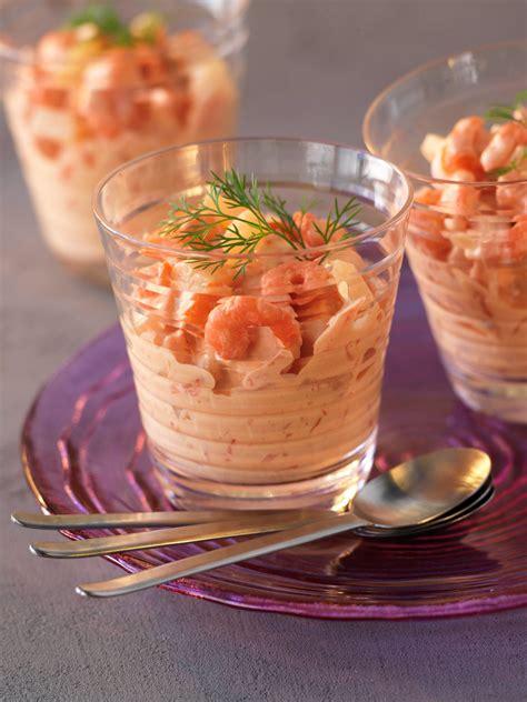 cuisine de a a z verrine recette verrine crevettes les meilleures recettes sur