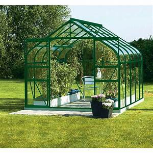 Serre En Polycarbonate Ou En Verre : serre de jardin en verre leroy merlin ~ Premium-room.com Idées de Décoration