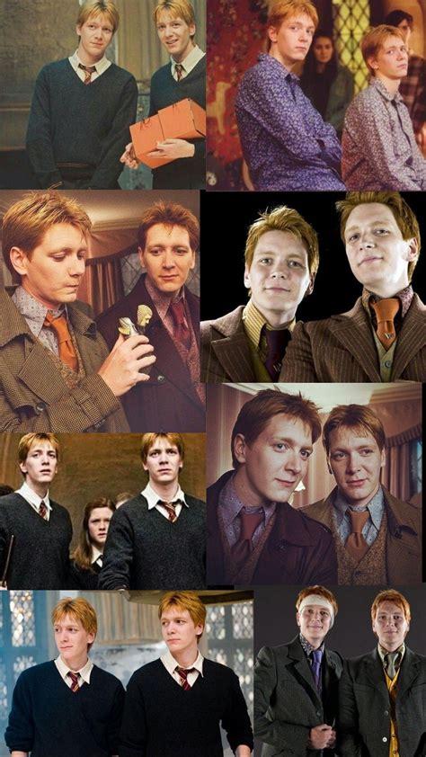 Fred Et George Weasley Wallpaper George Weasley George Weasley Aesthetic Weasley Twins