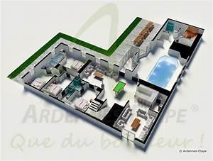villa de luxe avec piscine et wellness pour 26 personnes a With plans de maison gratuit 9 maison contemporaine avec piscine interieure apla