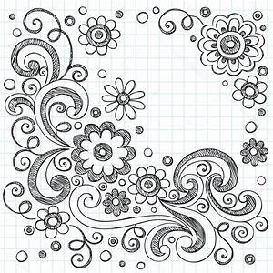 Cute Flower Designs To Draw On Paper | Home Design Ideas