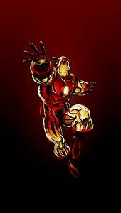 Red Ironman - The iPhone Wallpapers