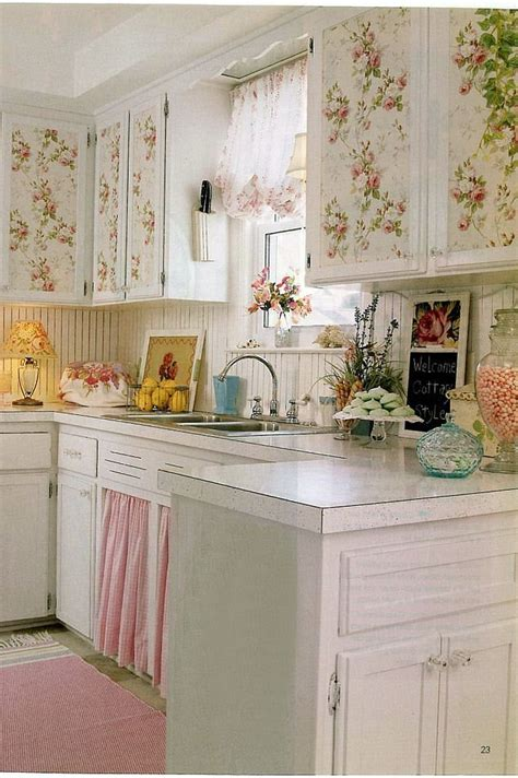shabby chic kitchen wallpaper 1500 best shabby chic kitchens images on pinterest