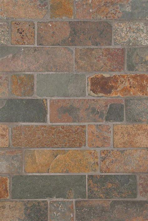 backsplash tile guide california gold tumbled brick design