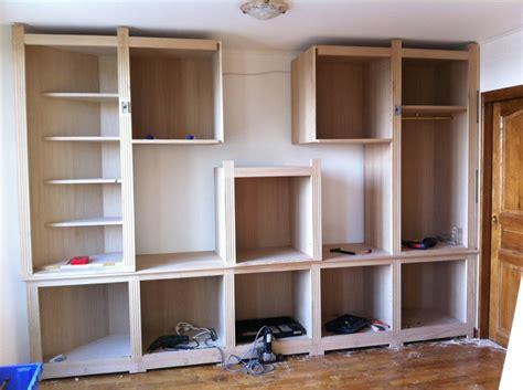 meuble bureau bibliotheque faire meuble tv sur mesure ciabiz com
