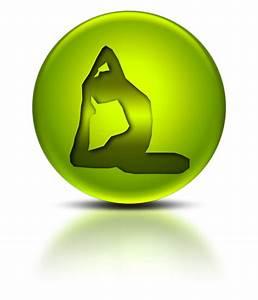 Yoga Exercise Icon #045491 » Icons Etc