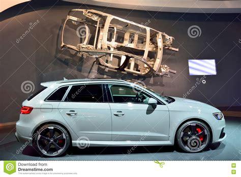 De Auto Van Audi Rs3 Redactionele Stock Afbeelding