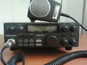 President Hr 2510 With A Astatic D104 M6b Power Mic