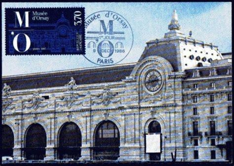 cartes postales du monde l inauguration du mus 233 e d orsay 224 par f mitterrand