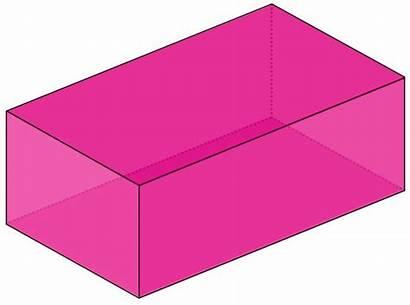 Cuboid Clipart Shape Shapes Box Math Prism