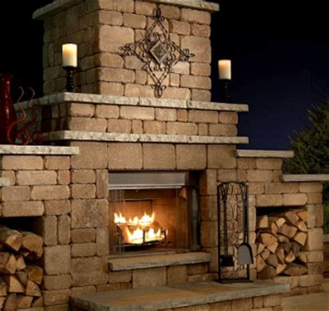 grand outdoor fireplace southwest stone supply