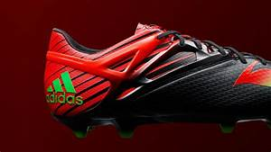 The new black / red Adidas Messi 2015-2016 Football Boot ...