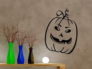 Halloween Kürbis Motive : halloween k rbis wandtattoo k rbis gesicht halloween bei ~ Eleganceandgraceweddings.com Haus und Dekorationen