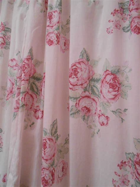 shabby chic curtains lovable shabby chic shower curtains