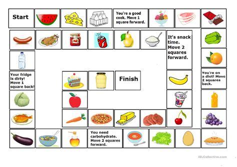Food Game 2 (food Game Corrected) Worksheet