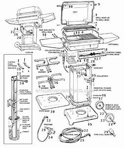 Pgs Grill K40 Parts List And Diagram   Ereplacementparts Com