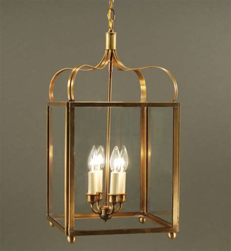 Large Crown Hanging Light