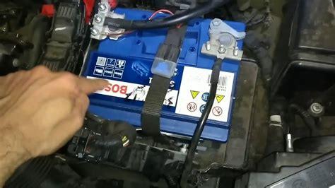tutorial sostituzione batteria panda  benzina  kw