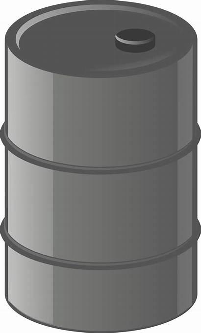 Barrel Drum Metal Oil Container Clipart Clip
