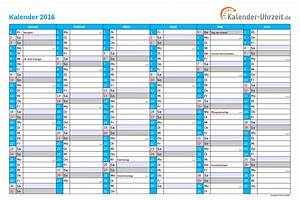 Excel kalender 2016 kostenlos for Kalender 2016 excel kostenlos