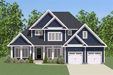 Traditional House Plan With Wrap-around Porch